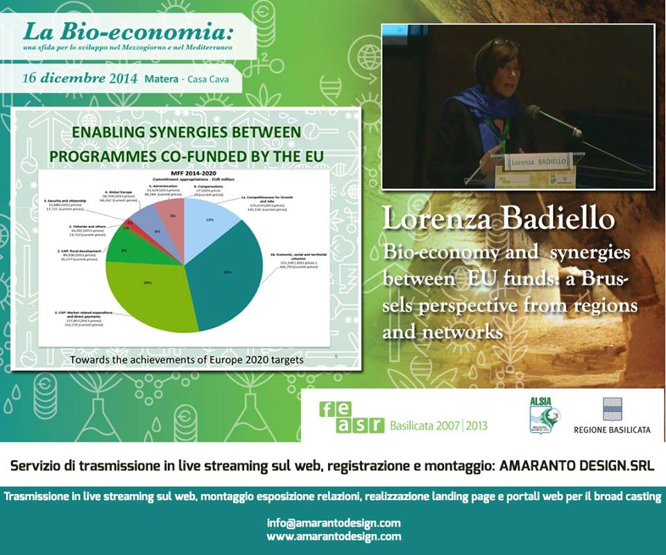 Evento Bio Economy 2014