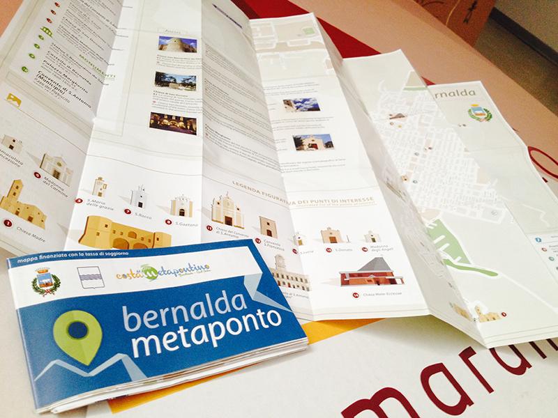 Mappa Turistica Bernalda e Metaponto
